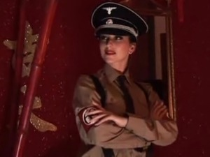 sexy mature woman in uniforms