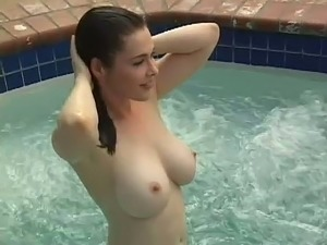 bare pool topless girls