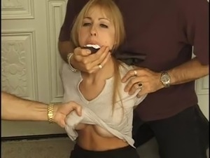 oral sex gagged