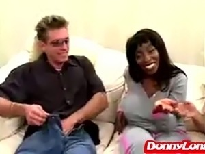 ebony blowjob party