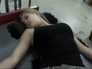hot blonde lesbian sleep