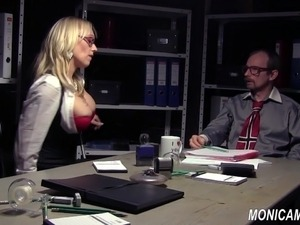 secretary come across desk sex video