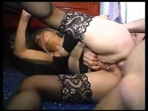stockings black porn