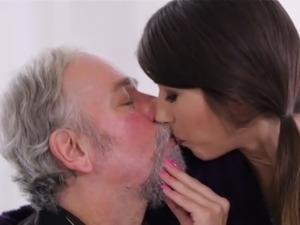 old women and young boy sex