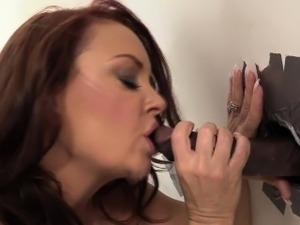 glory hole pussy video