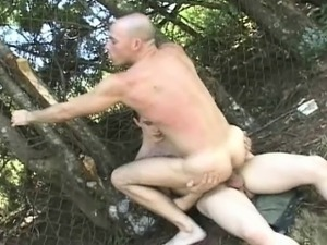Outdoor nude sex