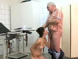 teacher fingering schoolgirl panties old man