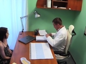 girls getting pussy exam by doctor