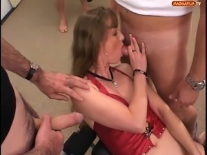 group gangbang sex