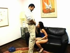 Brazilian Housewife Destructive Anal
