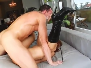 aurora snow anal gang bang