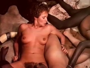 interracial group sex black dick