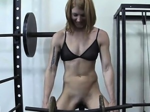 sexy girls in gym