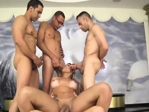 largest group sex party
