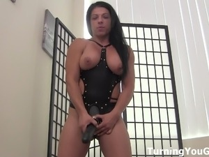 strapon girl fuck boyfriend