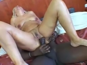 granny gets real fucked by bbc