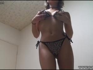 Hot girls wearing bikinis