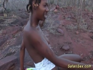 naked african girls with big boobs