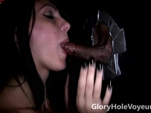 gloryhole wife fuck