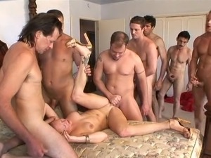 Gangbang sex video
