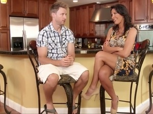 video anal sex waitress kitchen