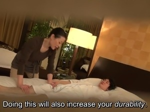japanese girls massage treat older women