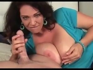 busty blowjob cock video
