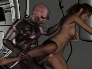 alien hybrid girl video