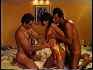 retro threesome porn