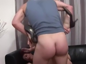 Redhead French Girl Grouped Up And Fucked
