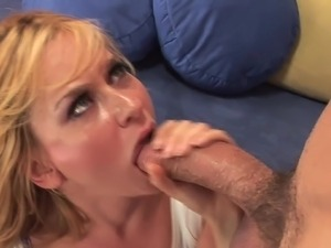 Swallow cum shot