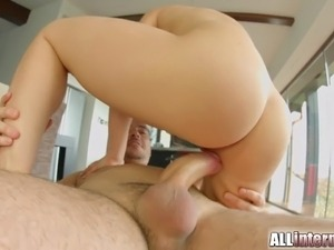 free anal creampie video
