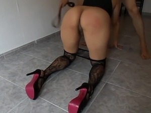 bare butt spanking videos crying sounds