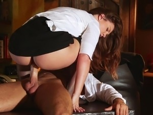 porn cum on clothed girl