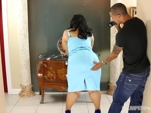 Award Winning BBW Karla Lane Fucks Young Assistant