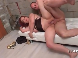 french wife shaking orgasm