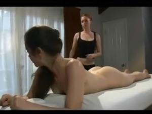 busty ebony lesbians massage