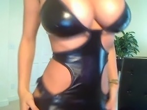 Ebony latex sex