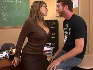 Big tits office fuck