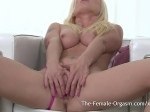 Girl has first orgasm