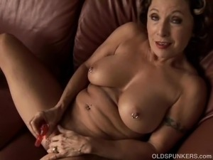 grannies with big tits movies