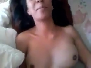 big tit wife blowjob