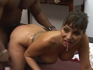 busty ebony groupsex video