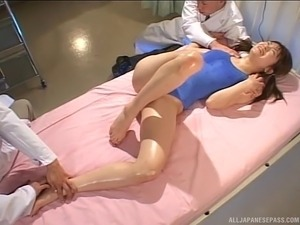 fine japanese legs tits