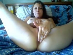 Lesbians sex on bed