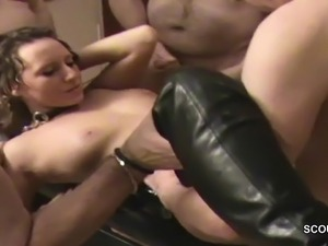 gangbang group sex videos