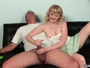 handjob mature video amateur