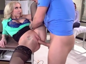 blonde nurses eating pussy