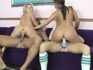 girls having a foursome
