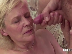 grannies and young boys sex